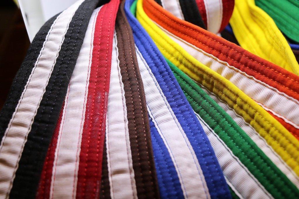 テコンドーも帯の色の違いに意味がある!?
